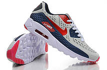 Мужские Кроссовки Nike Air Max 90 Ultra BR Blue Burgundy найки аир