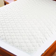 Протектор для матраса (микрофибра) ТМ Ярослав, 90х200х20 см, белый