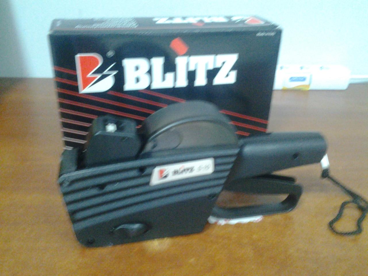 Этикет-пистолет BLITZ (OPEN) S10, S10/A (однострочный)