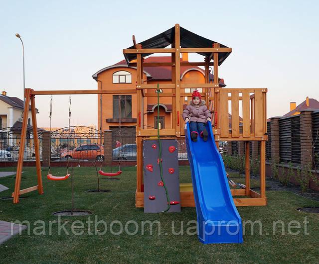 Детская площадка деревянная,игровой комплекс
