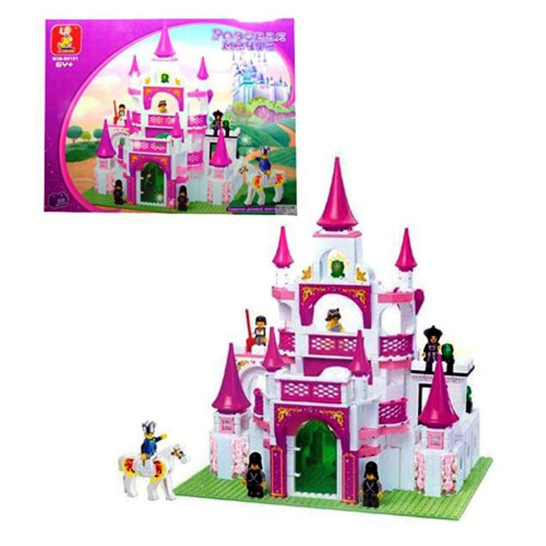 Конструктор Розовая мечта Замок принцессы M38-B0151 SLUBAN