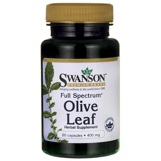 Экстракт Оливкового Листа, 400 мг 60 капсул