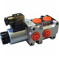 Клапан распределительный SV6-6/2 делитель потоков 50л/мин, 12В