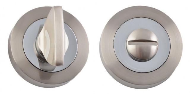 Накладка WC SIBA R01 мат.никель-хром