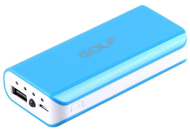 Power Bank для смартфона GOLF GF-802 5200 mAh
