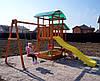 ИГРОВОЙ КОМПЛЕКС, детская площадка из дерева