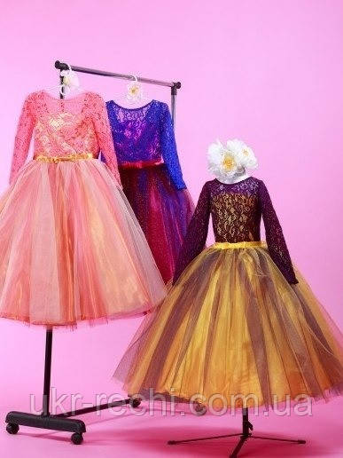 Купить детское платье на выпускной