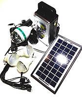 Солнечная электростанция GD-8023 3LED диско лампа