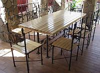 Кованый набор садовой мебели