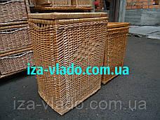 Корзина   для белья плетеная из лозы, фото 3
