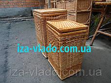 Корзина   для белья плетеная из лозы, фото 2