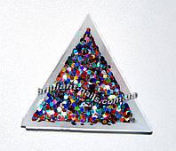 Шестигранники (соты), цвет микс  голографические