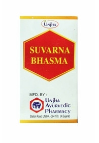 Суварна бхасма, Сварна бхасма (зола золота) омоложение Suvarna Bhasma (100mg)