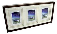 Деревянная фоторамка - галерея 10x15 x 3 GAL3DRP