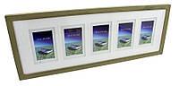 Деревянная фоторамка - галерея 10x15 x 5 GAL5DRP