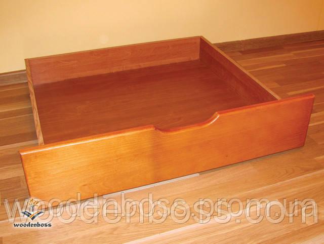 Комплект висувних, подкроватных ящиків (ВхШхГх - 16х90х60)