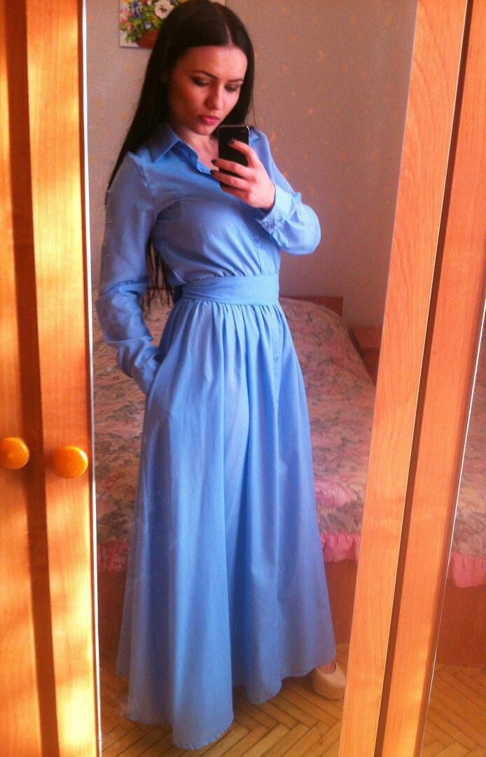 Женское платье рубашка купить