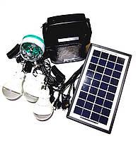 Солнечная электростанция GD-8050 3LED диско лампа