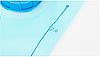 Питьевая система, голубой гидратор 2 л (PEVA), фото 4