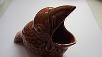 Пепельница керамическая Птица 11 см