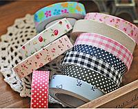 Ленты для декора, упаковки и шитья