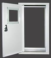 Щит металлический наружный пустой (без задней стенки) для 1 фазных электросчетчиков, 380х200х95мм