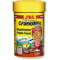Корм для рыб JBL Novo GranoMix (НовоГраноМикс) гранулы, 250 мл