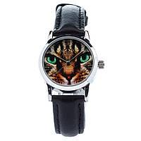 Женские наручные часы «Мордочка кота»
