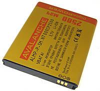 Аккумулятор Avalanche Samsung Galaxy Note i9220, N7000 (2500mAh)