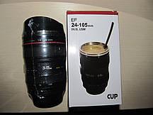 Чашка - термос об'єктив Canon - подарунок для фотографа!