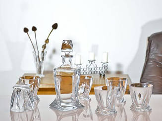 Quadro набор для виски - 7 пр.  Bohemia 99999-99А44/850