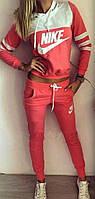 Женский спортивный костюм NIKE с карманами и капюшоном