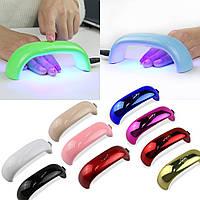 Cветодиодная портативная лампа для сушки ногтей (LED LAMP ) 9Вт