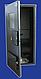 Щиты герметичные уличные металлические  для 3 фазных электросчетчиков 300-450-160мм, фото 2