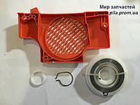 Крышка стартера с роликом в сборе для Makita DCS 400, DCS 401, фото 1