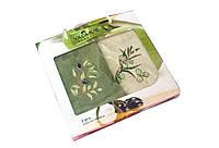 Набор кухонных махровых полотенец Yagmur Olive 30*50 2шт.