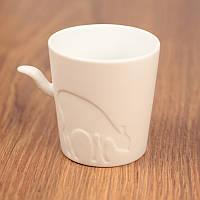 Чашка с хвостом и олененком