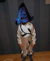 Карнавальный костюм колокольчик, вьюнок мальчик прокат