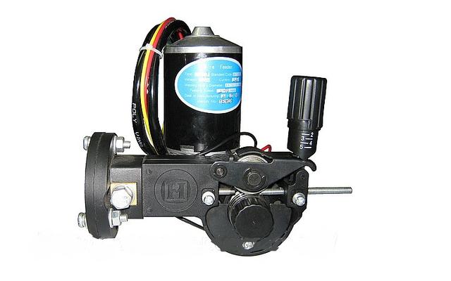 Подаючий механізм напівавтоматичний зварювальний 24В 2-х роликовий KZ-2 (євророз'єм) SSJ-18
