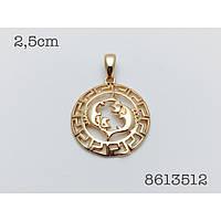 Знаки зодиака, 019 медицинская сталь+ювелирный сплав