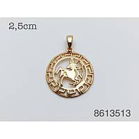 Знаки зодиака, 020 медицинская сталь+ювелирный сплав