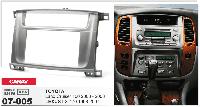 2-DIN переходная рамка TOYOTA Land Cruiser 100 2003-2007 / LEXUS LX-470 2002-2007, CARAV 07-005