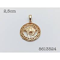 Знаки зодиака, 028 медицинская сталь+ювелирный сплав