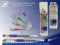 Набір гелевих ручок в пластиковій упаковці 4 кольори JO Prem. 1038-4