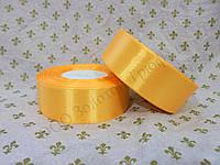 "Атласная лента для декора ""Абрикосовая"" h-2.5см"