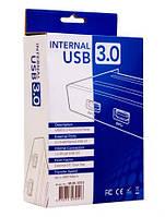 """Адаптер CHIEFTEC USB 3.0 для 3.5"""" отсека фронтальных панелей корпусов,2xUSB3.0, MUB-3002"""