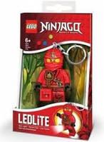 Брелок-фонарик Лего Ниндзяго Кай светодиодный lgl-ke77k, фото 1