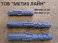 Дюбель трехраспорный (пробка) - 8х50 (уп.400шт.)