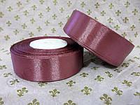 "Атласная лента для декора ""Светло-вишневая"" h-2.5см"