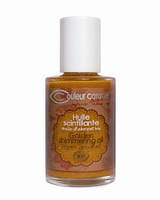 Мерцающие масло для волос и тела Couleur Caramel
